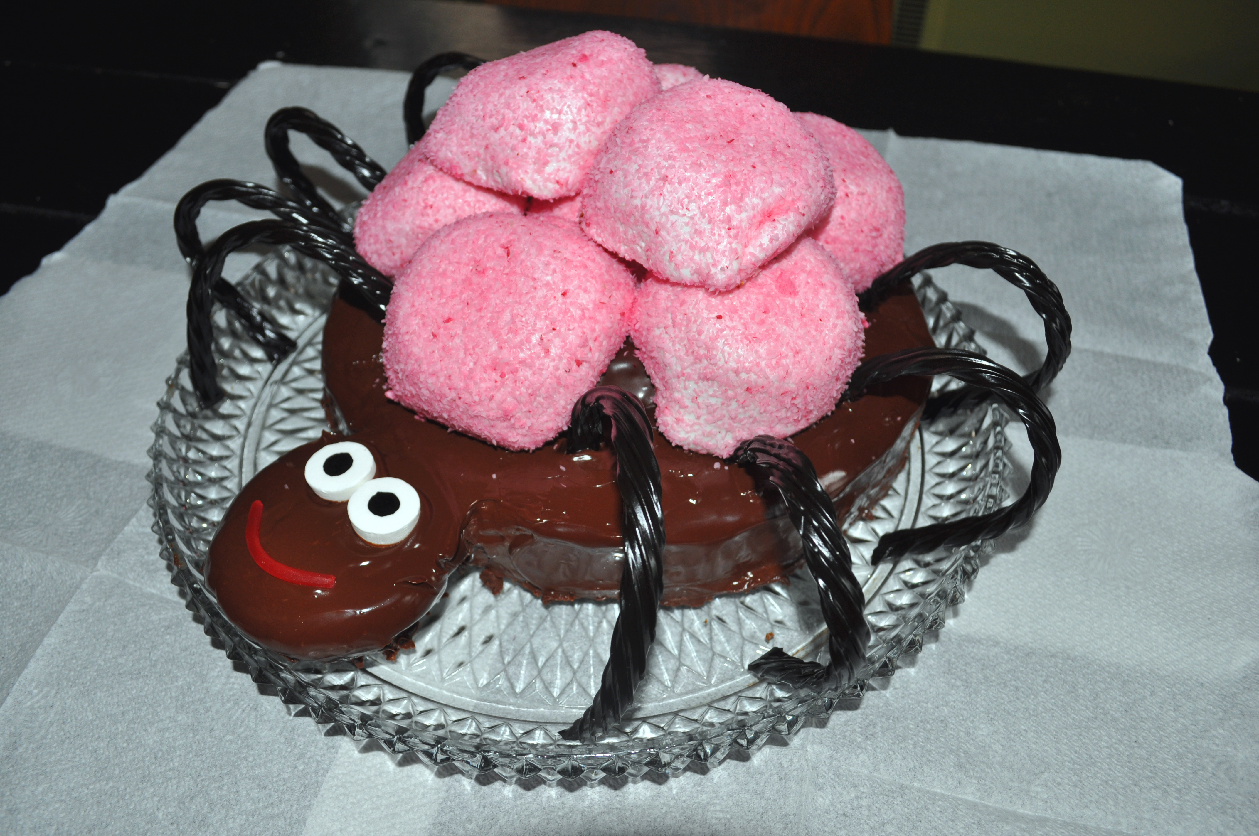 Creepy Cake N Bake; Not-So-Creepy, Crawly SPEE-IDER! | Author Michelle ...