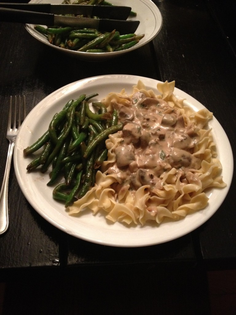 Recipe of the Week – Vegetarian Stroganoff