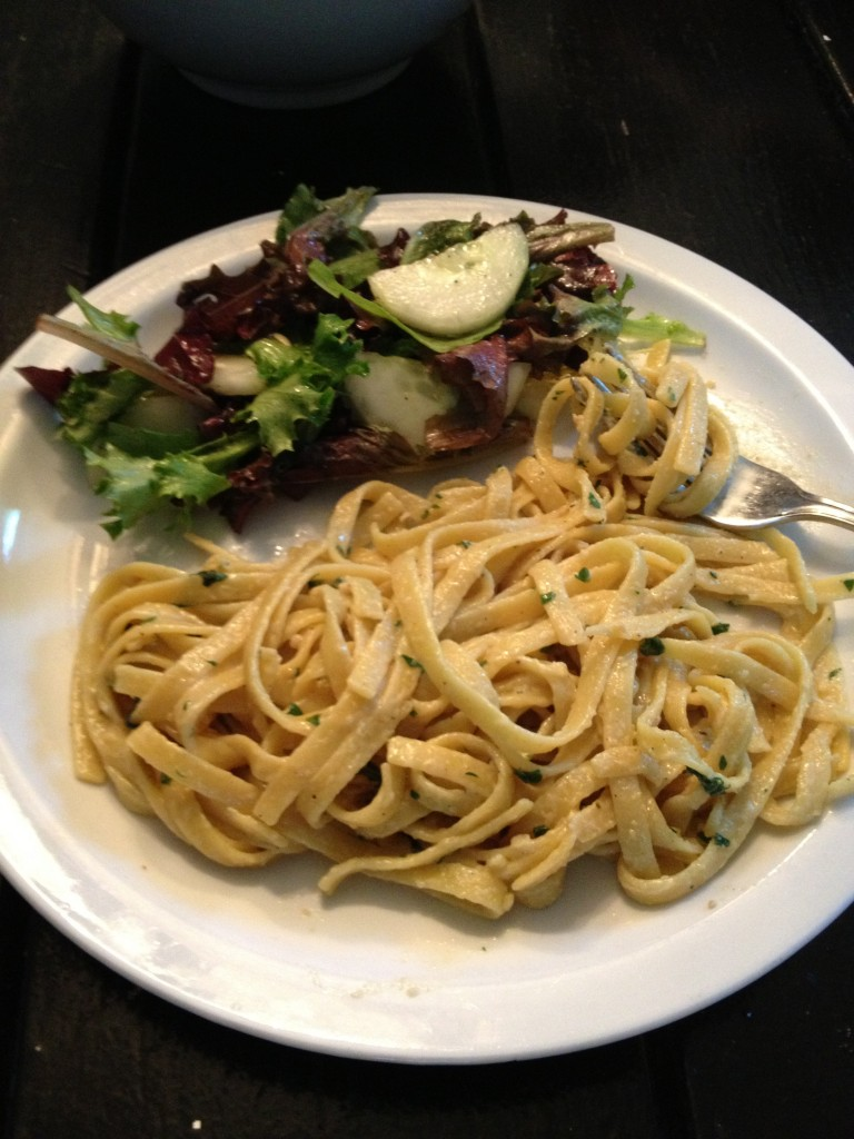 Recipe of the Week – Vegan Fettuccine  Alfredo