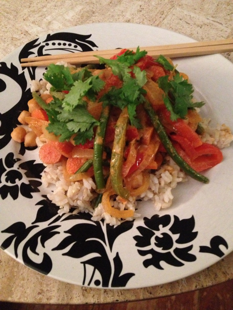 Recipe of the Week – Vegetarian Curry