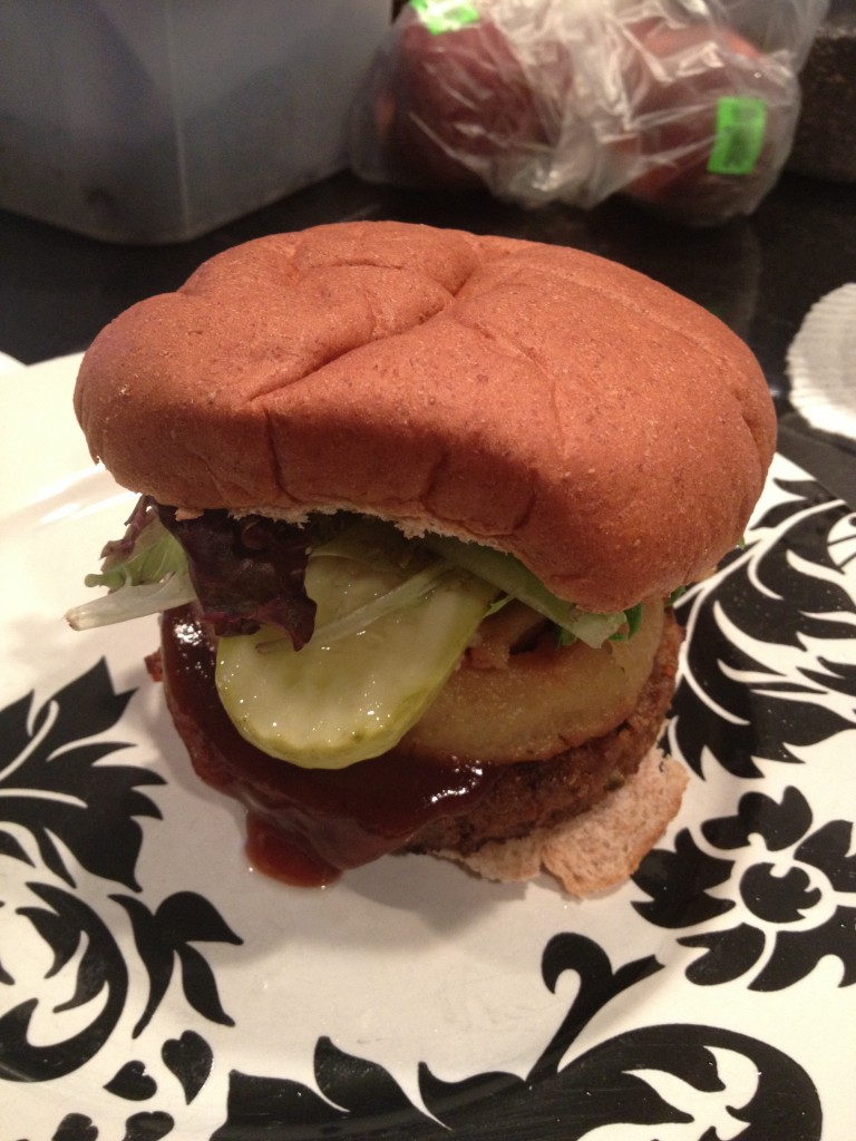 Recipe of the Week – Smokehouse Veggie Burger
